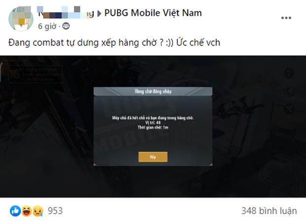 PUBG Mobile tràn server lúc nửa đêm khiến game thủ ức chế vì đang chạy bo bỗng dưng bị bắt xếp hàng chờ! - Ảnh 2.
