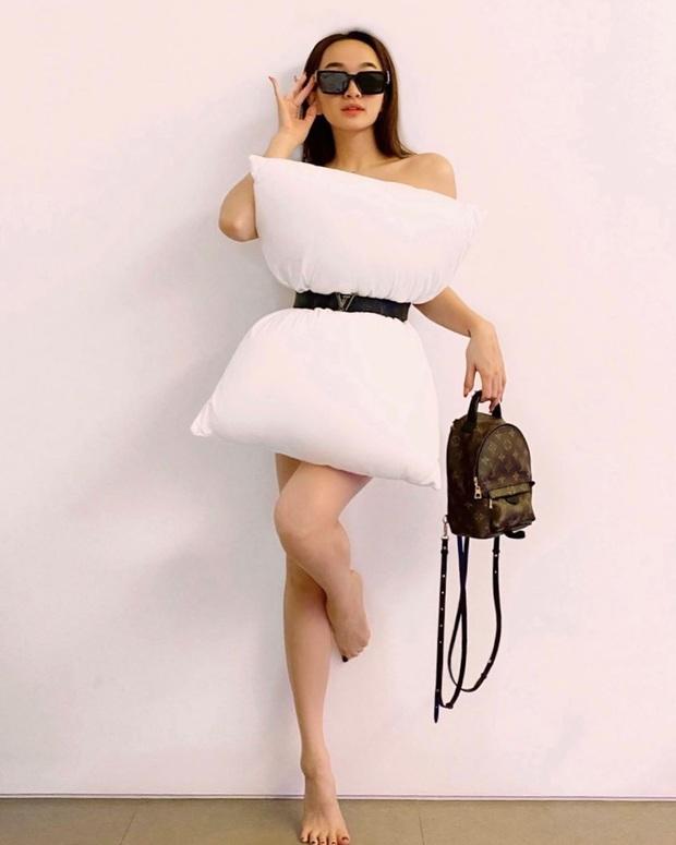 Châu Bùi và Khánh Linh giữ vững thần thái fashionista, Trang Hý giật giải mặn mòi nhất khi bắt trend thời trang chiếc gối - Ảnh 9.