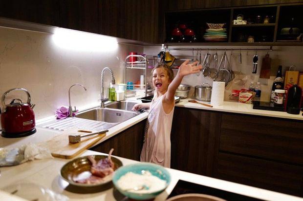 Hội nhóc tỳ Vbiz ngậm thìa vàng nhưng không hề lười biếng: Tự giác làm việc nhà, nấu nướng, chăm nhất là nhà Hà Tăng - Ảnh 4.