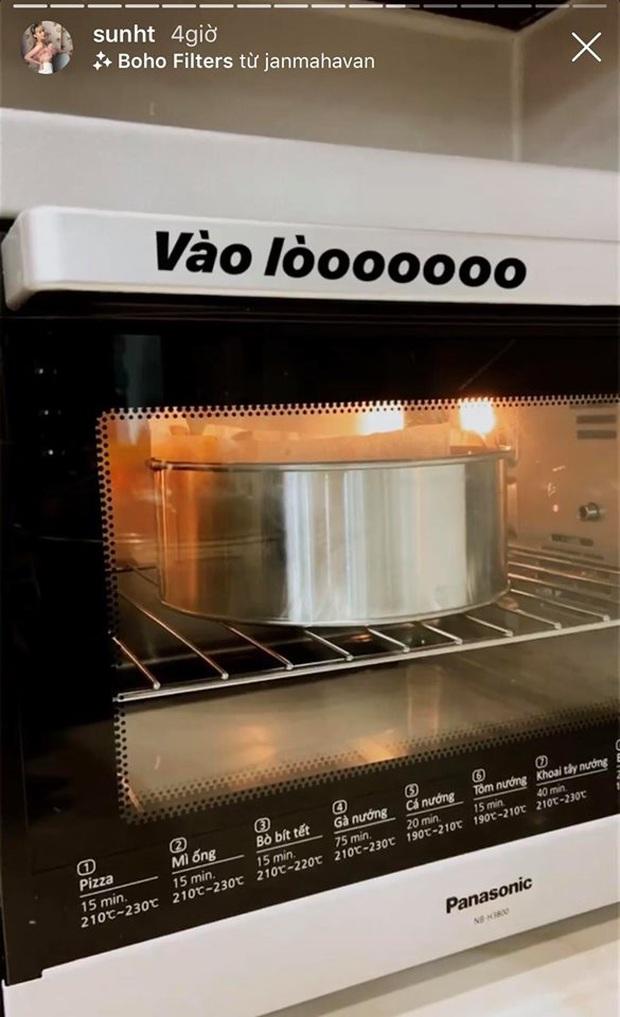 """3 lần nổi hứng nấu nướng giữa đêm đều toang cả 3: Chị em Sun HT - Quỳnh Anh Shyn chính thức gia nhập hội """"Ghét bếp"""" - Ảnh 7."""