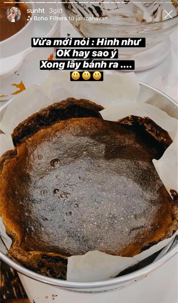 """3 lần nổi hứng nấu nướng giữa đêm đều toang cả 3: Chị em Sun HT - Quỳnh Anh Shyn chính thức gia nhập hội """"Ghét bếp"""" - Ảnh 8."""