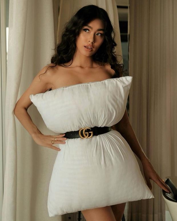 Châu Bùi và Khánh Linh giữ vững thần thái fashionista, Trang Hý giật giải mặn mòi nhất khi bắt trend thời trang chiếc gối - Ảnh 15.