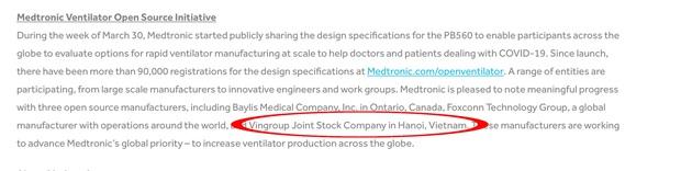 Tập đoàn y tế hàng đầu thế giới cấp phép cho 3 đơn vị sản xuất máy thở, 1 trong số đó là tập đoàn của Việt Nam - Ảnh 2.
