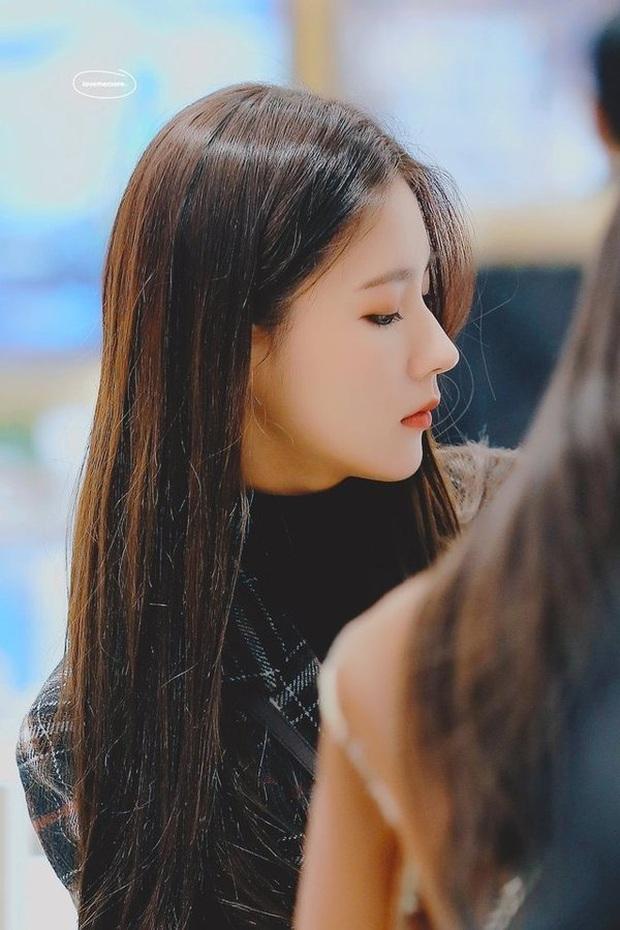 Thành viên hụt của BLACKPINK - Miyeon sở hữu chiếc mũi cao vút như cầu tuột khiến netizen ghen tỵ - Ảnh 1.