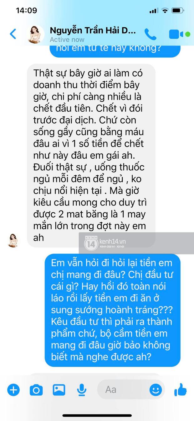 Biến căng: Hoa hậu Hải Dương lên tiếng khi bị tố lừa đảo hàng chục tỷ, Pha Lê tung bằng chứng tố cô gian dối, thách thức - Ảnh 7.