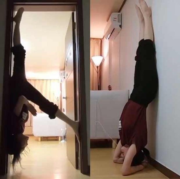 Nữ idol khoe tư thế yoga vừa khó vừa nguy hiểm, nhưng đôi chân dài đến mức bị tưởng là PTS mới gây bão MXH - Ảnh 4.
