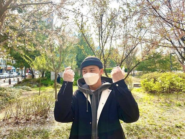 Park Seo Joon, T-ara và dàn sao Hàn đi bầu cử mùa dịch: Khẩu trang, găng tay đầy đủ, thành viên BLACKPINK hụt chiếm spotlight - Ảnh 2.