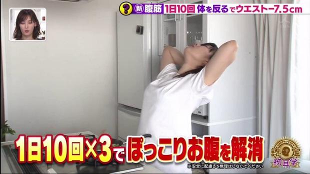 Đài MBS Nhật Bản chia sẻ động tác tập bụng hiệu quả hơn Sit Up giúp giảm tới 5,6cm vòng eo chỉ sau 2 tuần - Ảnh 14.