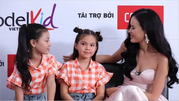 Model Kid Vietnam: Lần đầu tiên team Hương Ly chiến thắng, liên minh Lan - Thủy nhất loạt kiến nghị lên giám khảo - Ảnh 8.
