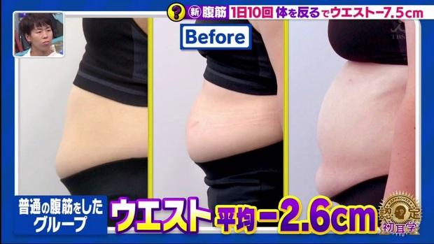 Đài MBS Nhật Bản chia sẻ động tác tập bụng hiệu quả hơn Sit Up giúp giảm tới 5,6cm vòng eo chỉ sau 2 tuần - Ảnh 4.