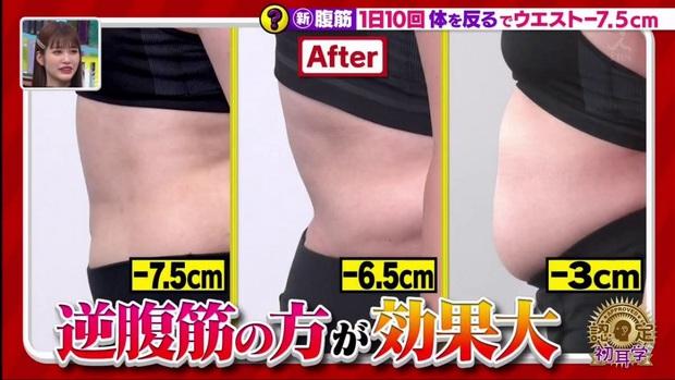 Đài MBS Nhật Bản chia sẻ động tác tập bụng hiệu quả hơn Sit Up giúp giảm tới 5,6cm vòng eo chỉ sau 2 tuần - Ảnh 6.