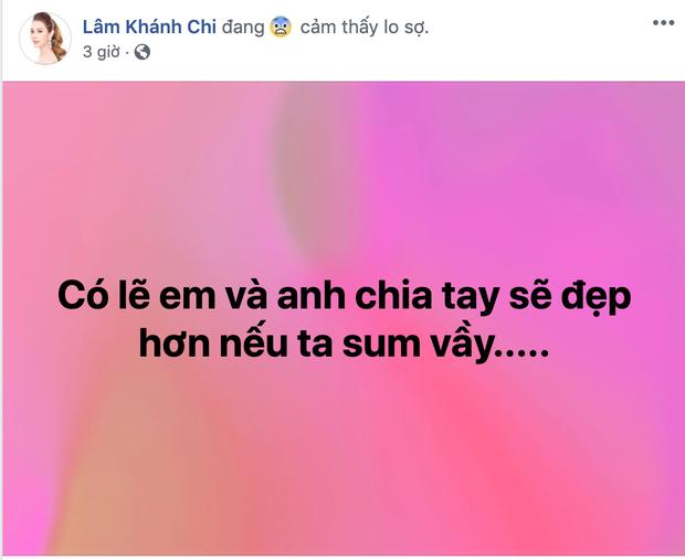 Showbiz Việt thêm 1 cặp toang: Lâm Khánh Chi dọn về nhà ba mẹ đẻ, hôn nhân với chồng trẻ kém 8 tuổi gặp trục trặc - Ảnh 2.