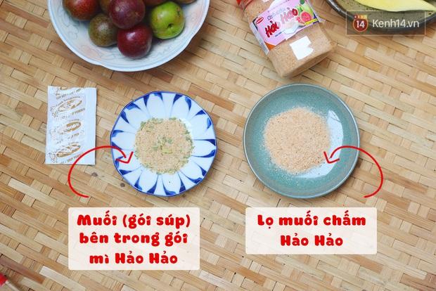 Review muối chấm Hảo Hảo siêu hot ngay trước ngày lên kệ: Vị không hề giống muối trong gói mì tôm, nhưng hương vị ấn tượng mới đáng chú ý hơn cả - Ảnh 5.