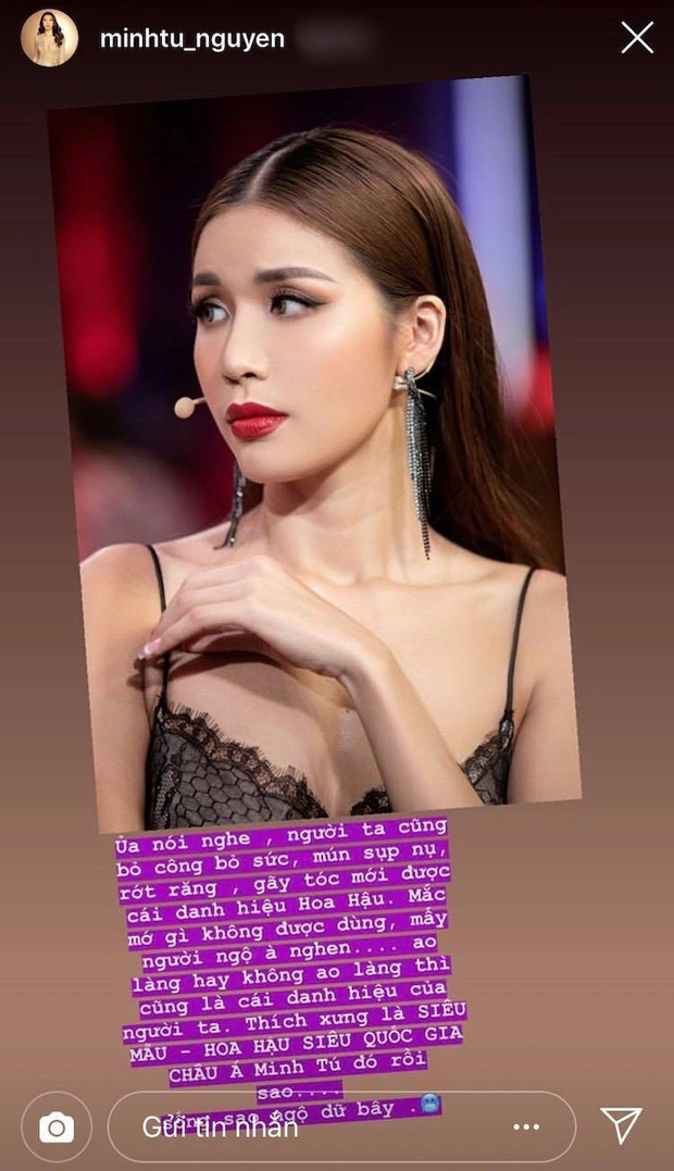 Hoa hậu Vbiz xù lông đáp trả vì bị nói xấu: Thu Hoài thâm thuý, Phạm Hương - Tiểu Vy tưởng hiền mà đanh chẳng vừa - Ảnh 10.