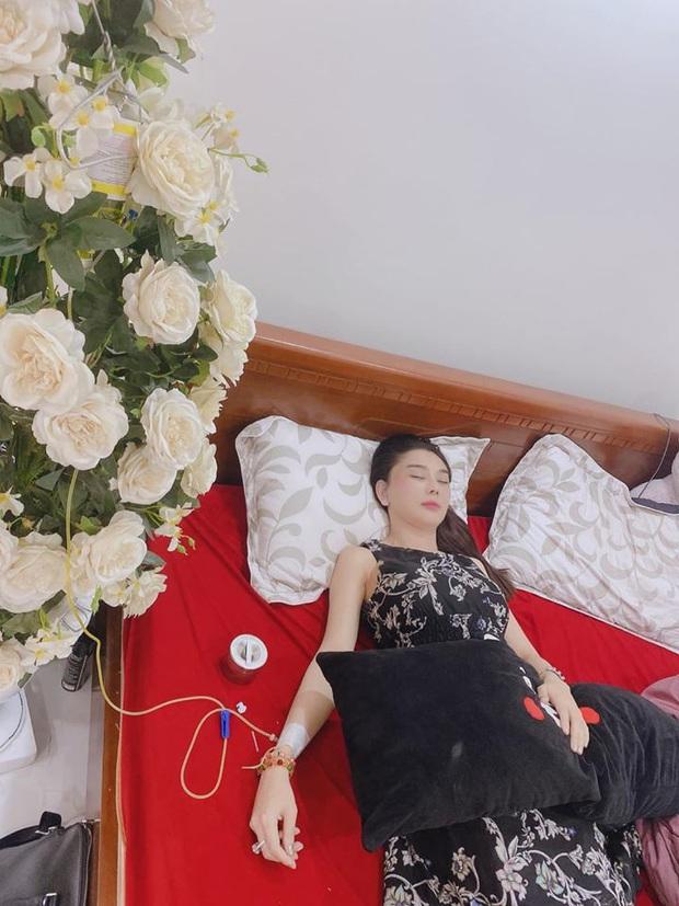 Lâm Khánh Chi bị co giật và khó thở, đang ở nhà mẹ đẻ giữa nghi vấn hôn nhân tan vỡ - Ảnh 2.