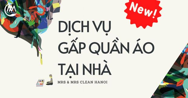 Đã có dịch vụ hay ho cho hội cuồng shopping Việt Nam: Gấp quần áo tại nhà, biến bãi chiến trường thành store ngăn nắp - Ảnh 2.