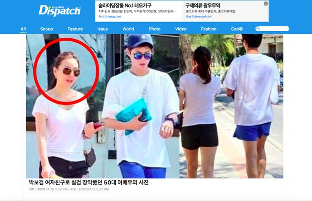 Dispatch bất ngờ đào lại vụ Park Bo Gum bị nghi lộ ảnh hẹn hò nữ minh tinh U50 của Reply 1988 - Ảnh 2.