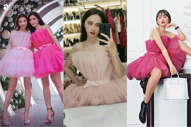 Lộ body khẳng khiu, Hương Giang kém đẹp hơn vợ 2 Minh Nhựa và bà hoàng Hermes khi cùng diện váy công chúa - Ảnh 1.