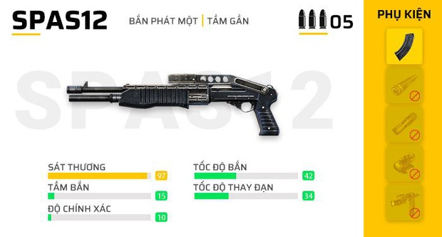 Free Fire: Nếu muốn đạt Top 1, những vũ khí mạnh mẽ này sẽ giúp bạn làm điều đó! - Ảnh 11.