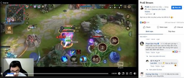 Liên Quân Mobile: Cầu thủ Đức Huy của ĐTVN là fan cứng của ProE, cứ thấy livestream là vào tương tác! - Ảnh 6.
