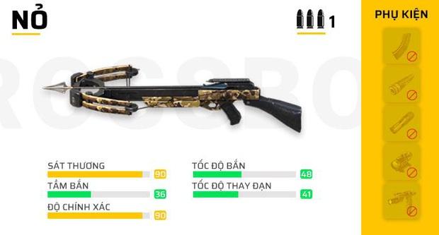 Free Fire: Nếu muốn đạt Top 1, những vũ khí mạnh mẽ này sẽ giúp bạn làm điều đó! - Ảnh 7.