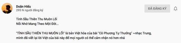 Từ nhạc Coldplay trở thành Tình Sầu Thiên Thu Muôn Lối: pha cover cồng kềnh cứ tưởng nhạc Hoa lời Việt đang gây tranh cãi MXH - Ảnh 4.