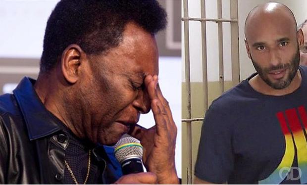 Chuyện ít ai biết về cuộc đời vào tù ra tội, hết rửa tiền lại buôn ma túy của con trai Vua bóng đá Pele - Ảnh 1.