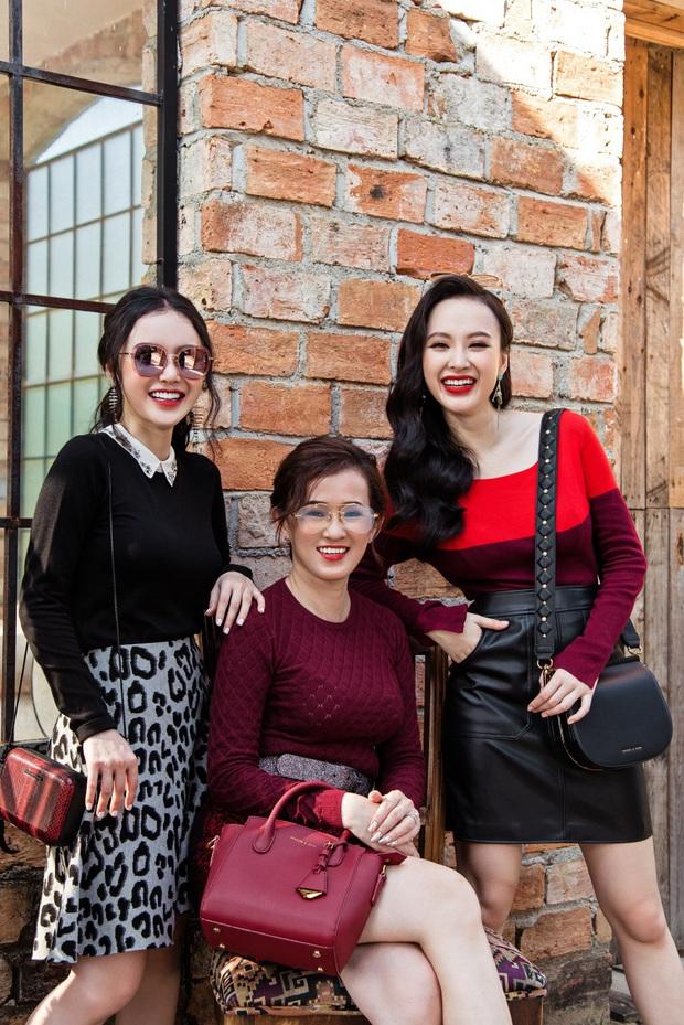 Angela Phương Trinh khoe ảnh 3 mẹ con chung khung hình: 2 chị em gái xinh xắn, lướt đến mẹ mới thấy choáng vì nhan sắc - Ảnh 4.
