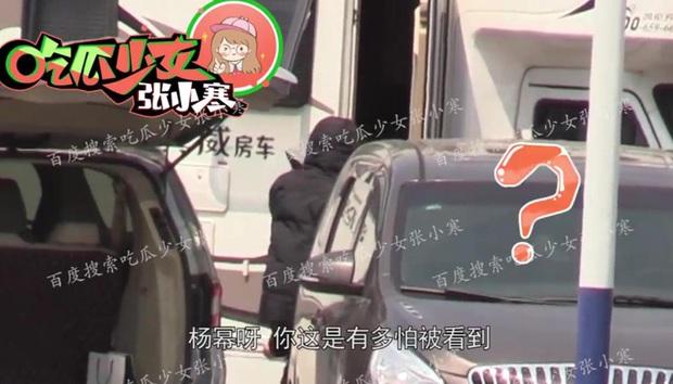 Paparazzi lại bắt trọn khoảnh khắc Dương Mịch lén lút tới thăm Ngụy Đại Huân, cặp đôi tiếp tục đi khách sạn - Ảnh 6.