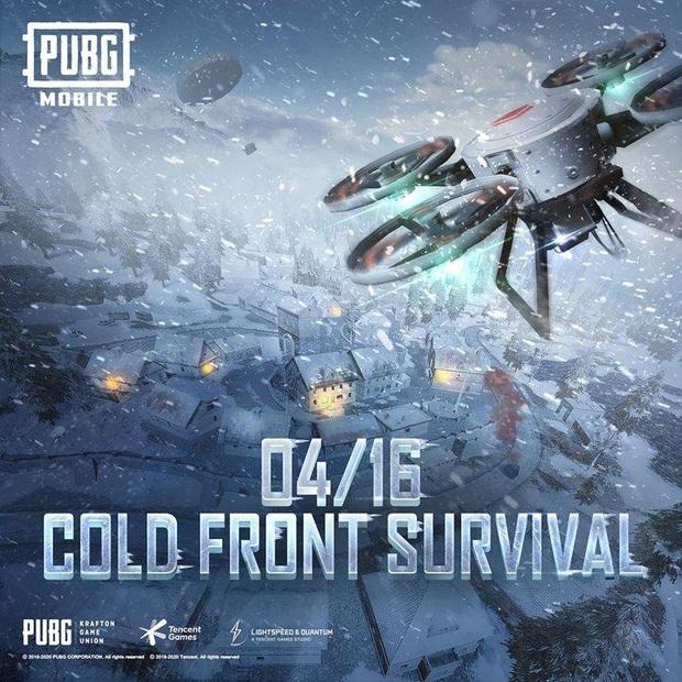 PUBG Mobile: Cold Front Survival Guide, chế độ giúp xua tan cái nóng sắp xuất hiện tại chiến trường sinh tồn! - Ảnh 1.