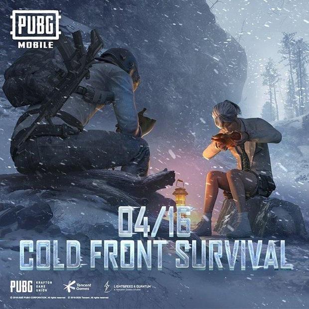 PUBG Mobile: Cold Front Survival Guide, chế độ giúp xua tan cái nóng sắp xuất hiện tại chiến trường sinh tồn! - Ảnh 2.