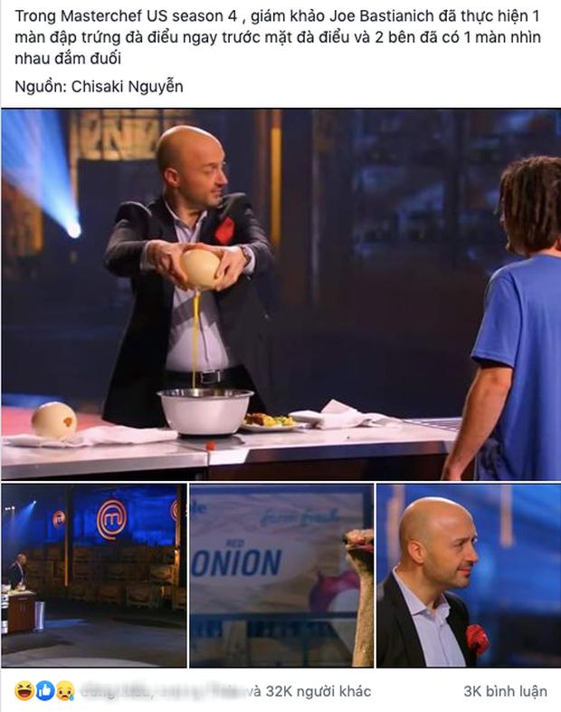 """Giám khảo MasterChef bị dân mạng đào lại clip đập trứng đà điểu ngay trước mặt loài động vật này, màn đùa vui bị nhiều người cho rằng """"lố bịch"""" - Ảnh 1."""