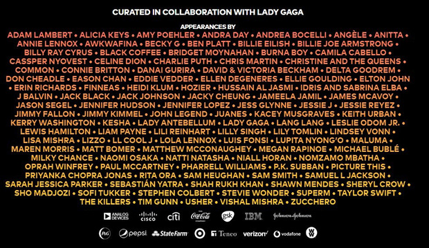 Không phải BTS, đây mới là nhóm nhạc Kpop duy nhất cùng Lady Gaga, Taylor Swift, David Beckham tham gia sự kiện lịch sử chống dịch Covid-19 - Ảnh 1.