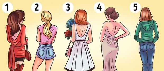 Chọn 1 cô gái hấp dẫn nhất và bài test này sẽ nói lên tính cách, con người bạn - Ảnh 1.
