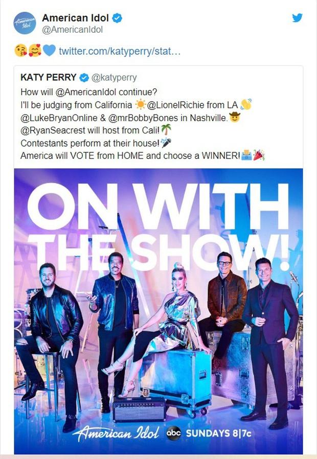 Ảnh hưởng của đại dịch Covid-19, American Idol tổ chức thi hát tại gia nhằm tránh bị gián đoạn - Ảnh 2.
