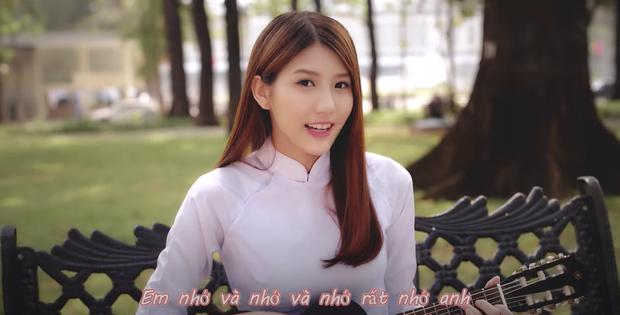 Cô gái từng gây sốt khi diện áo dài hát Hao Xiang Ni ở Việt Nam bất ngờ đi thi Sáng tạo doanh 2020 - Ảnh 3.