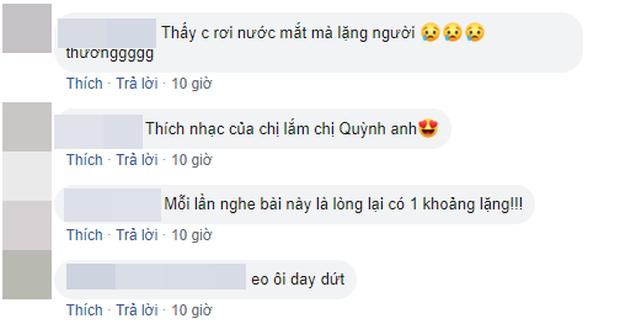 Phạm Quỳnh Anh bồi hồi chia sẻ lại đoạn clip vừa khóc vừa hát Tình Yêu Cao Thượng, fan tràn vào an ủi và so deep nhớ về thời thanh xuân - Ảnh 6.