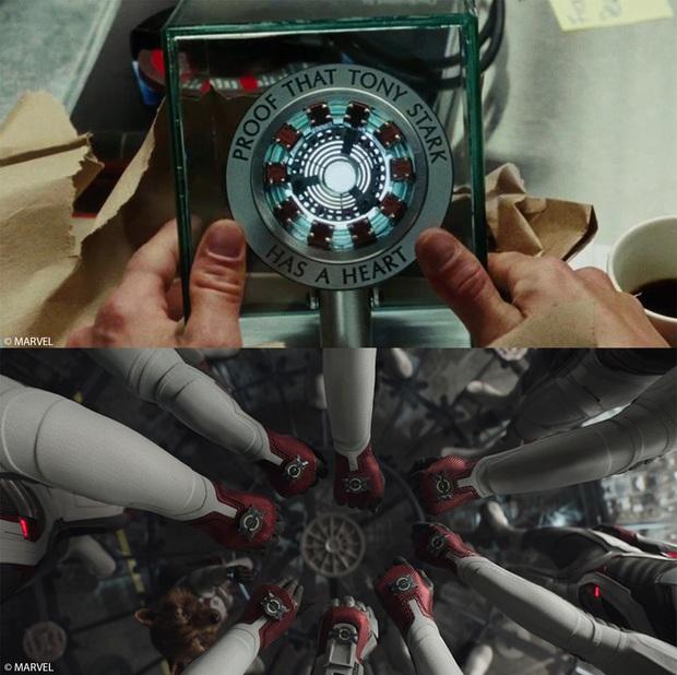MXH khóc hết nước mắt với chi tiết ẩn trong ENDGAME: Trái tim toàn đội dành cho Iron Man sâu sắc gấp ngàn lần lời yêu 3000 - Ảnh 5.