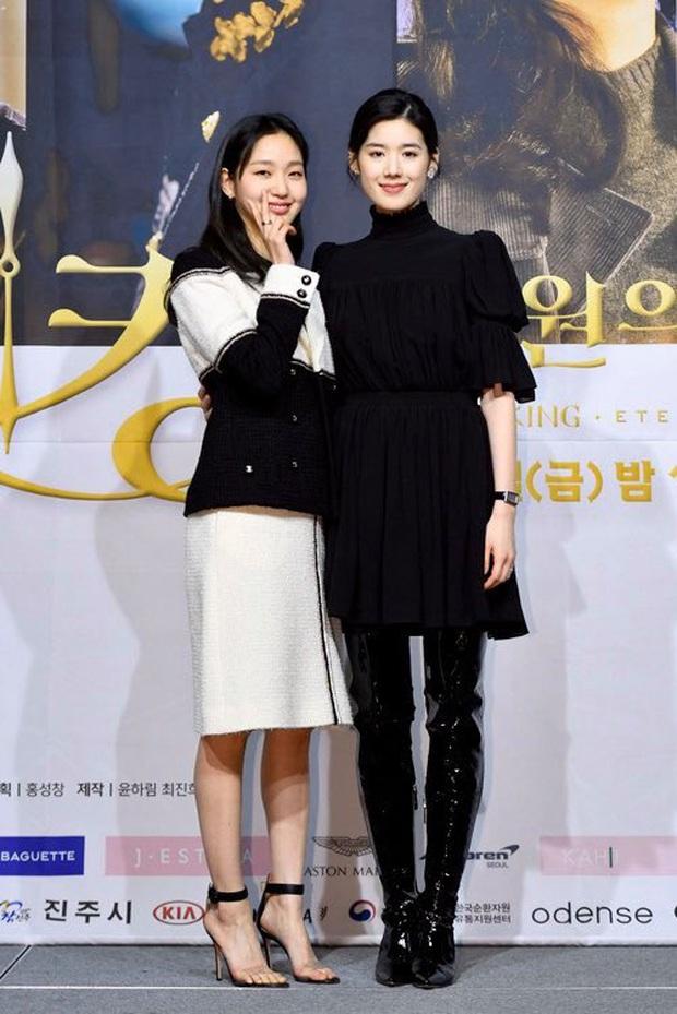 Họp báo siêu bom tấn Quân Vương Bất Diệt: Lee Min Ho được nam phụ khoác tay đắm đuối, Kim Go Eun bỗng bị đẩy ra chuồng gà? - Ảnh 7.