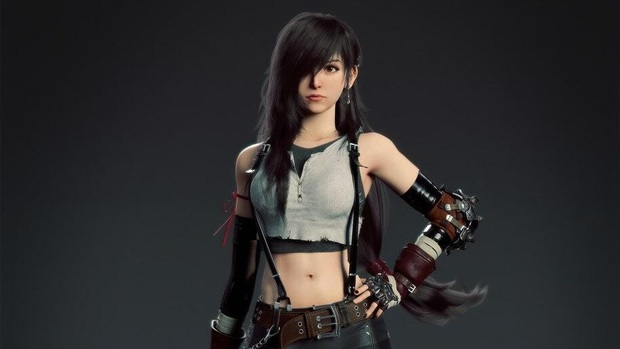 Mê đắm nhan sắc Britt Baron, nữ diễn viên lồng tiếng cho Tifa trong bản remake Final Fantasy VII - Ảnh 1.