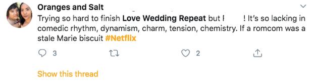 Muôn kiểu cảm xúc của netizen sau khi xem Love Wedding Repeat: Kẻ nức nở khen hay, người tuyệt vọng vô bờ - Ảnh 4.