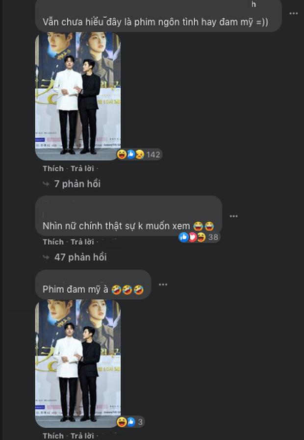 Netizen xem ảnh họp báo Quân Vương Bất Diệt xong hỏi nhau: Ủa chị em ơi, Lee Min Ho đóng phim đam mỹ  với nam phụ à? - Ảnh 5.