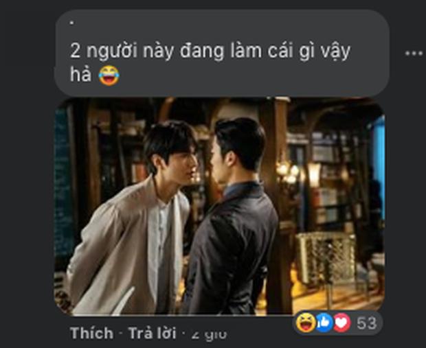 Netizen xem ảnh họp báo Quân Vương Bất Diệt xong hỏi nhau: Ủa chị em ơi, Lee Min Ho đóng phim đam mỹ  với nam phụ à? - Ảnh 8.