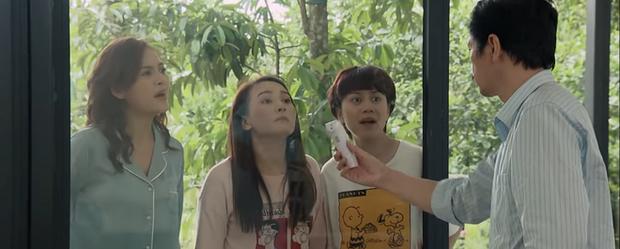 Preview Những Ngày Không Quên tập 10: Bố Sơn dính nghi án đi đêm với Cô Vy, ba cô con gái rượu hốt hoảng lo sốt vó - Ảnh 3.