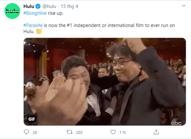 Parasite vừa chiếu mạng đã lập kỉ lục lượt xem, fan quốc tế hô hào: Tụi mị cũng không bất ngờ gì mấy! - Ảnh 1.