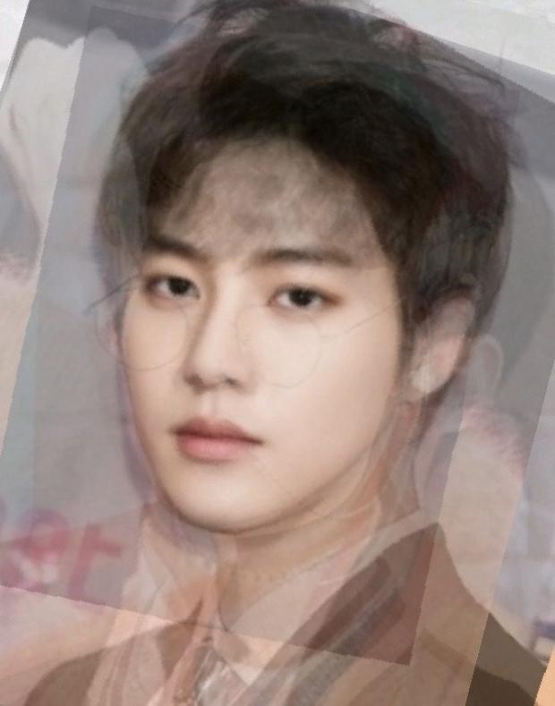 Tranh cãi tổ hợp khuôn mặt trung bình đẹp nhất boygroup Kpop: BTS bị dìm, EXO quý tộc hẳn, nhưng NCT - TXT mới gây choáng - Ảnh 5.