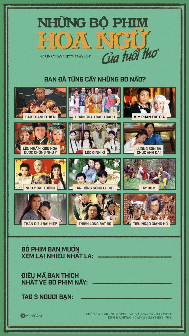 Nghe sao Việt kể về thời cày phim Hoa ngữ kinh điển mà bồi hồi theo: Puka đến hè lại nhớ Tây Du Ký, Diệu Nhi suốt ngày nhập vai Triệu Vy - Ảnh 8.