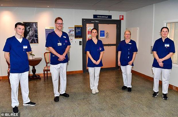 Công nương Thụy Điển tình nguyện tham gia đội ngũ tuyến đầu chống dịch Covid-19 với tư cách là một trợ lý y tế - Ảnh 1.