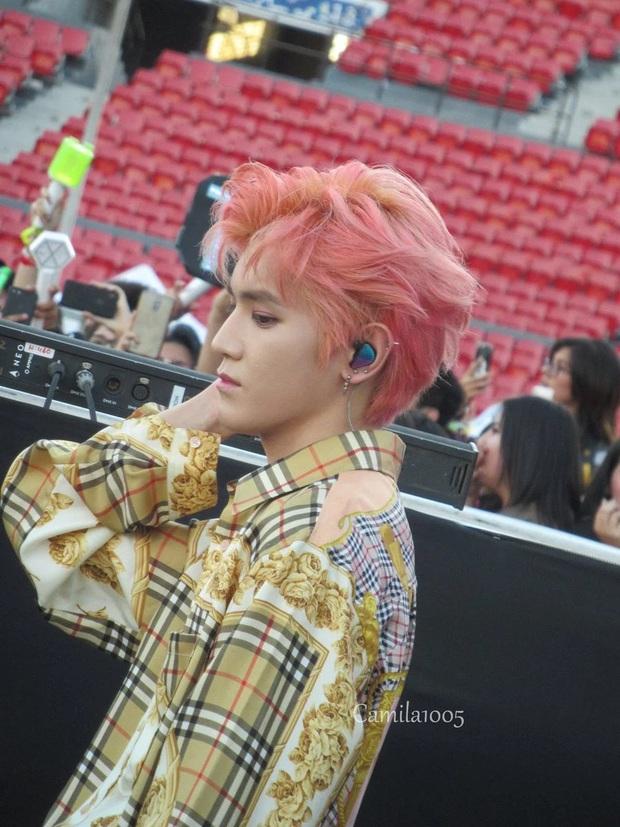 Hé lộ nhan sắc thật của loạt idol Kpop qua ảnh chụp vội ở concert: Tứk vì ánh sáng kém, camera thường không dìm nổi - Ảnh 15.