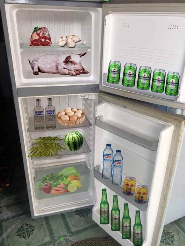 """Trend từ Tết nhưng đến gần đây lại hot trở lại: Khoe tủ lạnh mùa dịch, nhà đầy ắp, nhà lại... """"không có gì hết trơn"""" - Ảnh 11."""
